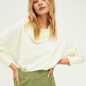 NWT Free People 'Don't You Want Me' Tee Oversized